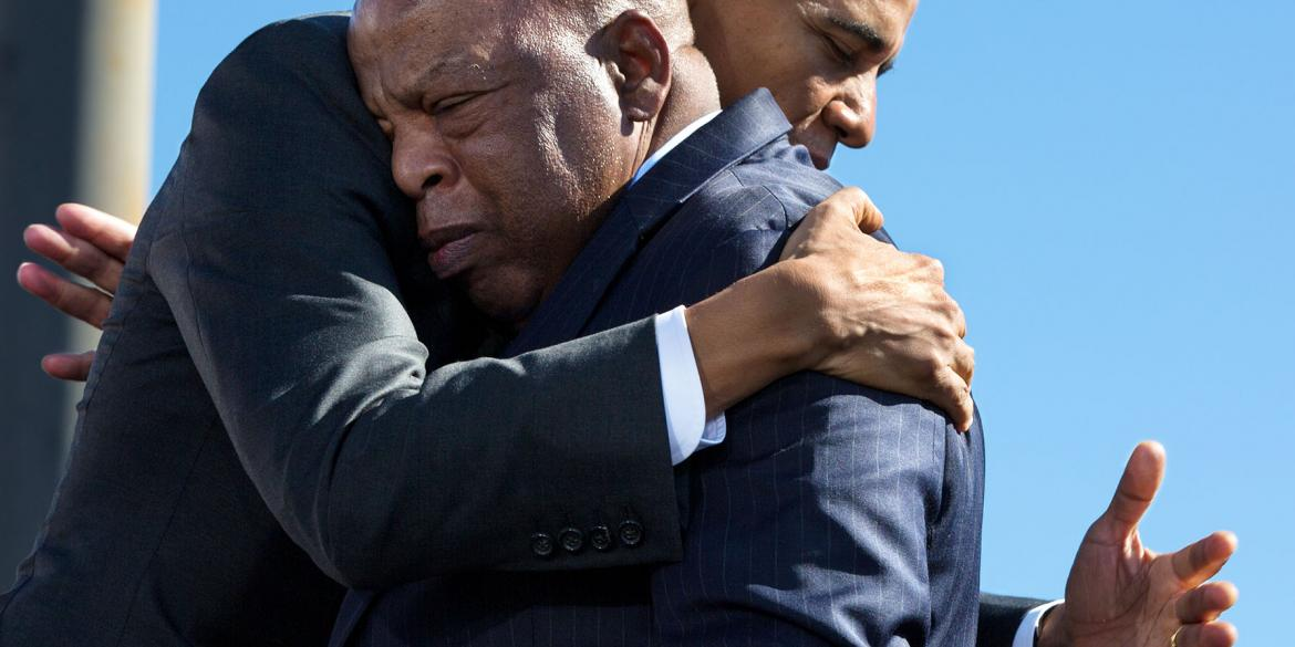 Statement from President Obama on the Passing of Rep. John Lewis image
