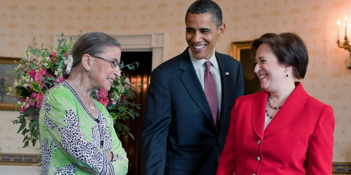 Statement from President Obama on the Passing of Justice Ruth Bader Ginsburg image