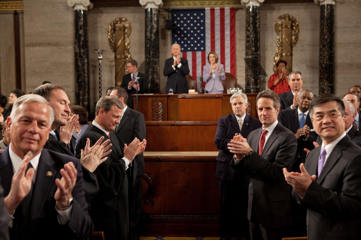 First State of the Union Address   Barack Obama Presidential