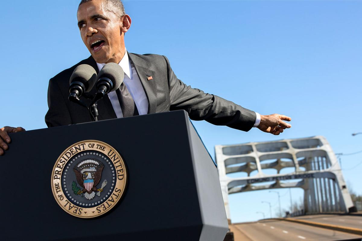 50th Anniversary of Bloody Sunday in Selma   Barack Obama