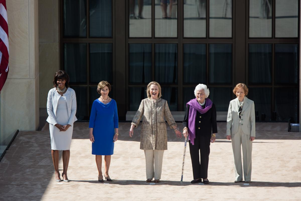 Dedication Of The George W Bush Presidential Library And Museum